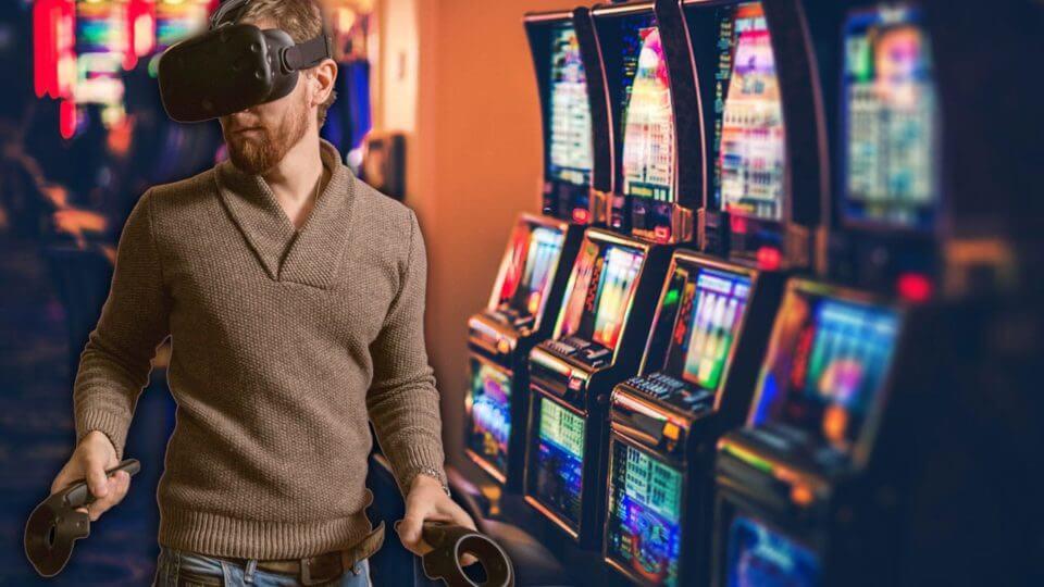 VR online casino pokies